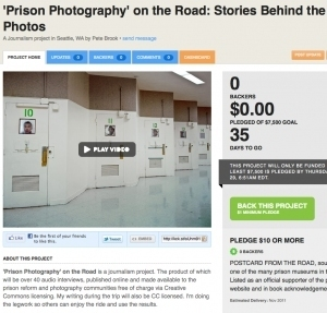 Kickstarter: 'Prison Photography' on the Road | Photography Now | Scoop.it