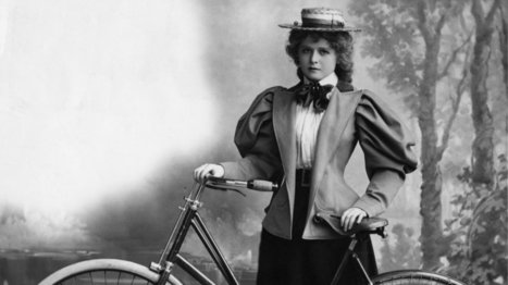 """The 19th-century health scare that told women to worry about """"bicycle face"""" 