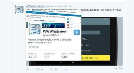 Twitter ya permite previsualizar los perfiles de los usuarios | Redes sociales y Social Media | Scoop.it