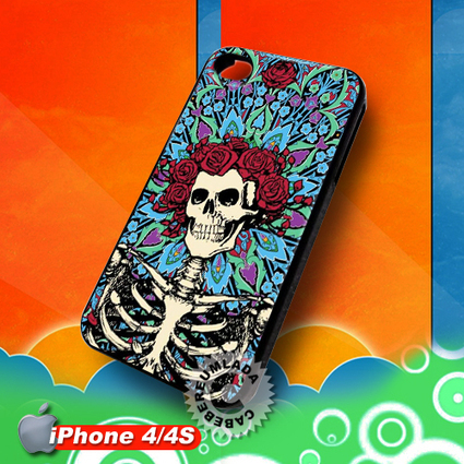 The Grateful Dead Skull and Roses iPhone 4 4S Case for sale | Customizable Smart Phone Cases | Scoop.it