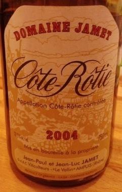 EnoItaca: Côte Rôtie 2004 Domaine Jamet | oenologie en pays viennois | Scoop.it
