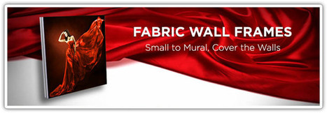 Wall Frame Fabric | Online Desing Printing | Scoop.it