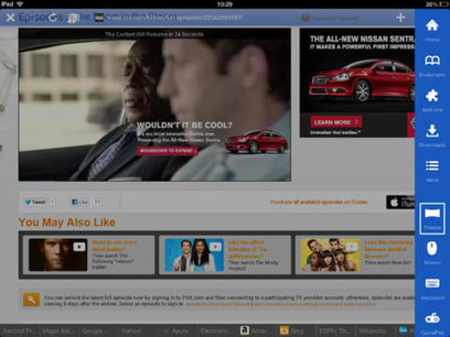 Puffin Web Browser 3.0 Brings New Tab Interface, Download-To-Cloud Feature And More -- AppAdvice | Edtech PK-12 | Scoop.it