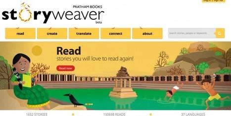 StoryWeaver : offrir aux enfants du monde des livres dans leur langue maternelle | CaféAnimé | Scoop.it