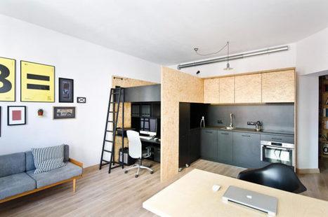Zariadenie malého bytu je navrhnuté tak, aby do bodky spĺňalo požiadavky majiteľa   domov.kormidlo.sk   Scoop.it