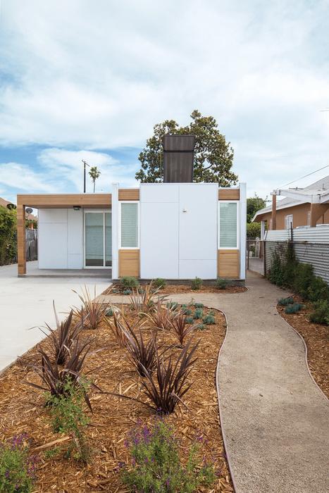 An Innovative Net-Zero Prefab in Los Angeles | Healthy Homes Chicago Initiative | Scoop.it
