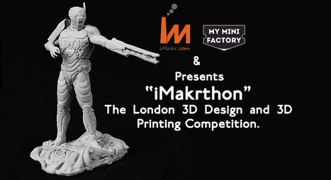 """iMakrthon"" The London 3D Printing Hackathon 