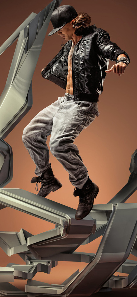 Digital Motion in Air | Abduzeedo | Graphic Design Inspiration and Photoshop Tutorials | Visual Inspiration | Scoop.it
