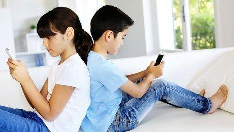 ¿Qué riesgos corren los niños que usan smartphones?   Seguros   Scoop.it
