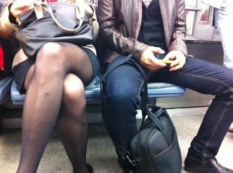 Un Tumblr s'élève contre la domination masculine dans le métro | CRAZY PRESS | Scoop.it