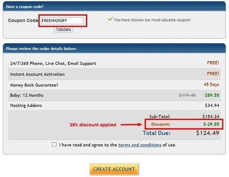 HostGator Coupons Codes December 2013 | TechnoBOL | Scoop.it