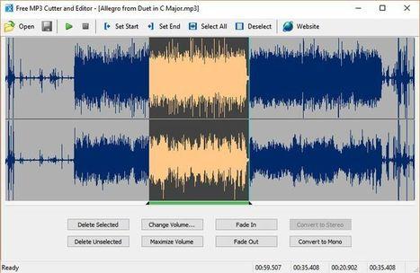 Software gratuito para cortar audio y realizar otras tareas de edición | Software y Apps | Scoop.it