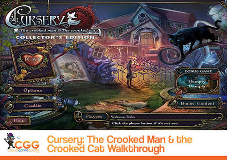 Cursery: The Crooked Man and the Crooked Cat Walkthrough: From CasualGameGuides.com | Casual Game Walkthroughs | Scoop.it
