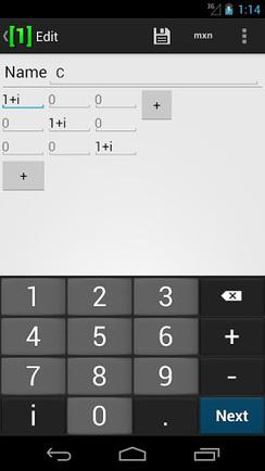 Matrix Calculator Pro v1.2.0 apk download | study | Scoop.it
