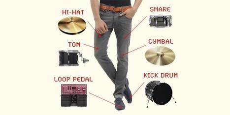 Ropa musical: convierte tus prendas en un instrumento con DrumPants   Música   Scoop.it