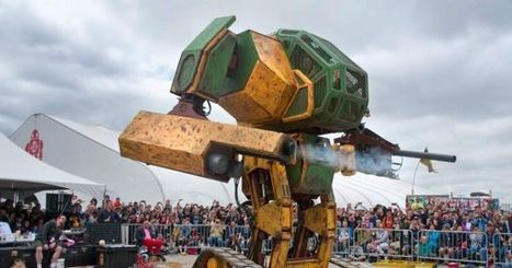 MegaBots Raises $2.4 Million to Create Robot Fighting League | HiddenTavern | Scoop.it