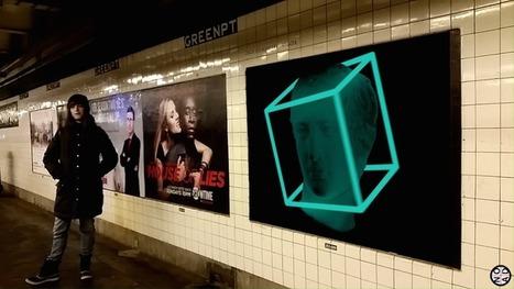 Realidade aumentada leva arte GIF ao metro de Nova Iorque | Criatividade, inovação, marketing | Scoop.it