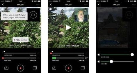 #Twicer: créez et commentez vos vidéos depuis votre iPhone   Environnement Digital   Scoop.it