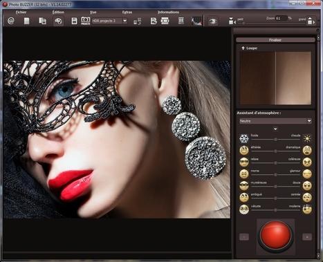 PhotoBUZZER permet en un clic d'obtenir différents préréglages sur vos photos | Chroniques libelluliennes | Scoop.it