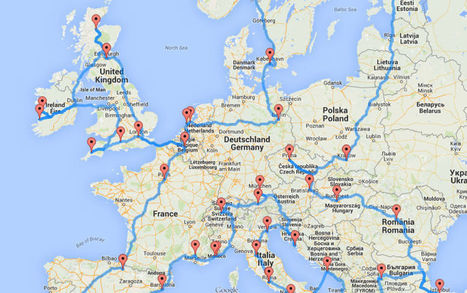 Le road trip optimal pour découvrir l'Europe | Tout sur le Tourisme | Scoop.it