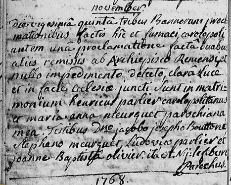 Qui pourrait traduire cet acte du latin au français ? | Généalogie et histoire, Picardie, Nord-Pas de Calais, Cantal | Scoop.it
