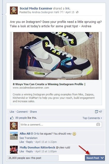 Boost Posts or Promoted Posts on Facebook: Which is Better? | marketing | Scoop.it