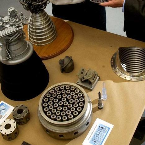3D-Printed Rocket Parts Will Take NASA to Mars | 3D Printing Daily News | Scoop.it