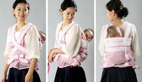 Traditional Korean Baby Carrier Gaining Popularity Abroad | Sonoran Hanbok | Scoop.it