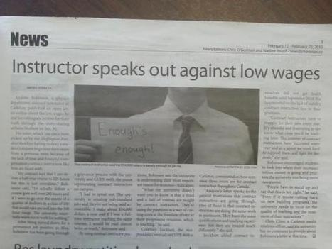 Canadian #NAWD examplar @AndrewRobinson_Physics in the news again | A is for Adjunct | Scoop.it