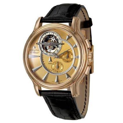 Zenith Academy Tourbillon Chronograph Men's Automatic Watch 18-1260-4005-71-C505 | Online-store | Scoop.it