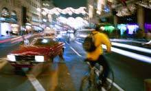 Cyclists' weapons of choice: loud honks and curses | Urban Life | Scoop.it