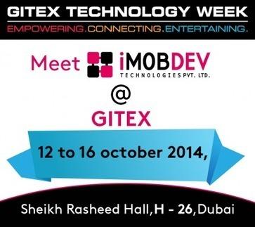 iMOBDEV Technologies about to symbolize inventive trendy services at GITEX 2014 , DUBAI | PRLog | Hire Open Source Web Developer | Scoop.it