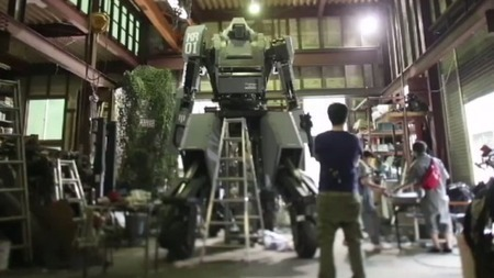 Monster mecha with smile-controlled gatling guns | Robots and Robotics | Scoop.it