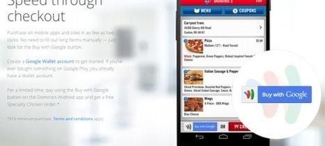 Payez les pizzas Domino's avec Google Wallet - WebLife | Le paiement | Scoop.it