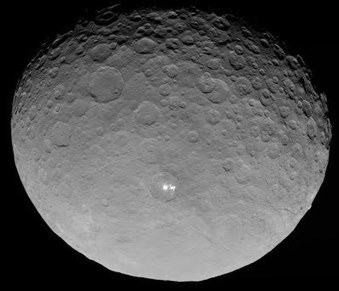 Solar ion electric propulsed Dawn Spacecraft reaches CERES - finds light points - Solarlife daily | How to survive | Scoop.it