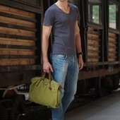 Military green shoulder satchels | personalized canvas messenger bags and backpack | Scoop.it
