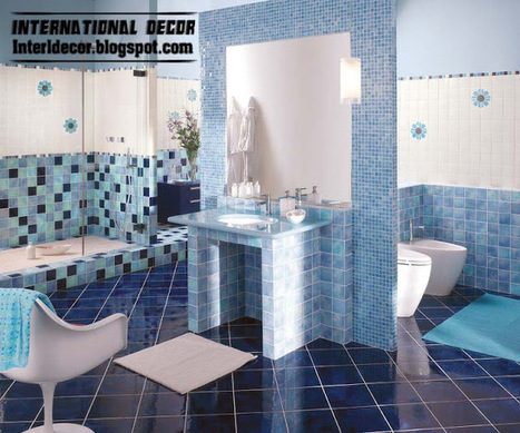 International decor contemporary turquoise bat for International decor bathrooms