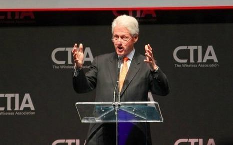 Bill Clinton Speaks on the Power of Wireless Innovation | Mobile (Post-PC) in Higher Education | Scoop.it