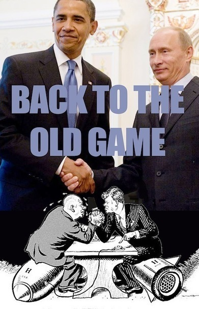 Back to the old Cold War game | openDemocracy | Teaching the different impacts of War | Scoop.it