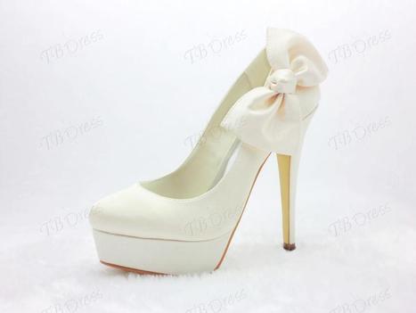 $ 63.49 Honey  Stiletto Heels Closed Toe Prom/Evening Shoes | fashion | Scoop.it