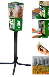 Rebuilding Place in the Urban Space: Seed bombs: Greenaid vending machines | Sustainable Futures | Scoop.it