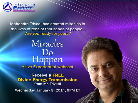 Divine Energy Transmission – A free experiential webcast by Mahendra Trivedi | Spiritual Leader | Scoop.it