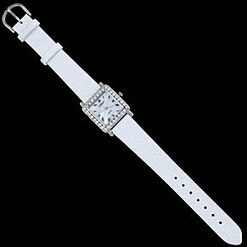 Just Review It!: Beautiful Elegant White Banded Watch by Silver.AG | Online Business | Scoop.it