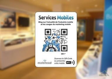 Un support innovant unique avec Interactivité Mobile et Vitrophanie QR Code, QR+, NFC By mobiLead | The use of QR codes | Scoop.it