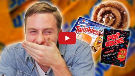 Watch Australians Taste Test American Junk Food | INTRODUCTION TO THE SOCIAL SCIENCES DIGITAL TEXTBOOK(PSYCHOLOGY-ECONOMICS-SOCIOLOGY):MIKE BUSARELLO | Scoop.it