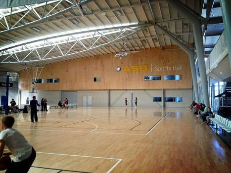 Twitter / hadynz: ASB sports hall. Fantastic ... | Sports Facility Management.4364994 | Scoop.it