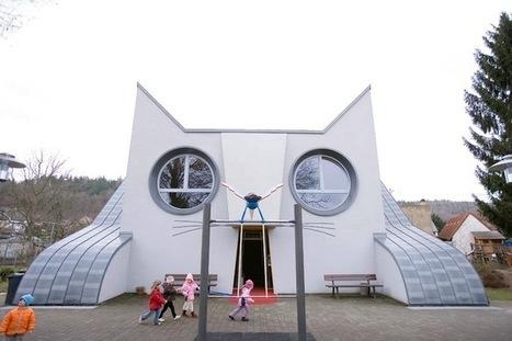 German Kindergarten Designed as a Giant Cat | Arty Brain | Scoop.it