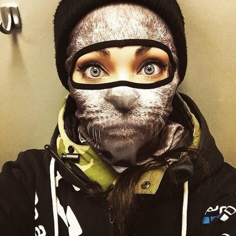 #Animal #Ski #Masks By Teya Salat. #art #design #fashion | Luby Art | Scoop.it