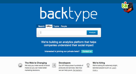 BackType, l'agrégateur de commentaires | Ce qui m'intéresse | Scoop.it