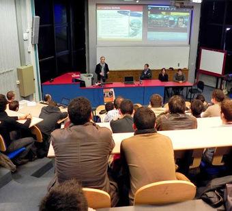 Des conférences métiers en lien avec trois des spécialités de l'Enssat | Portfolio ALA | Scoop.it